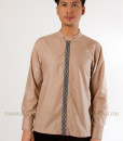 baju koko modern  soft-brown(1)