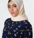 butterfly muslim blouse 801