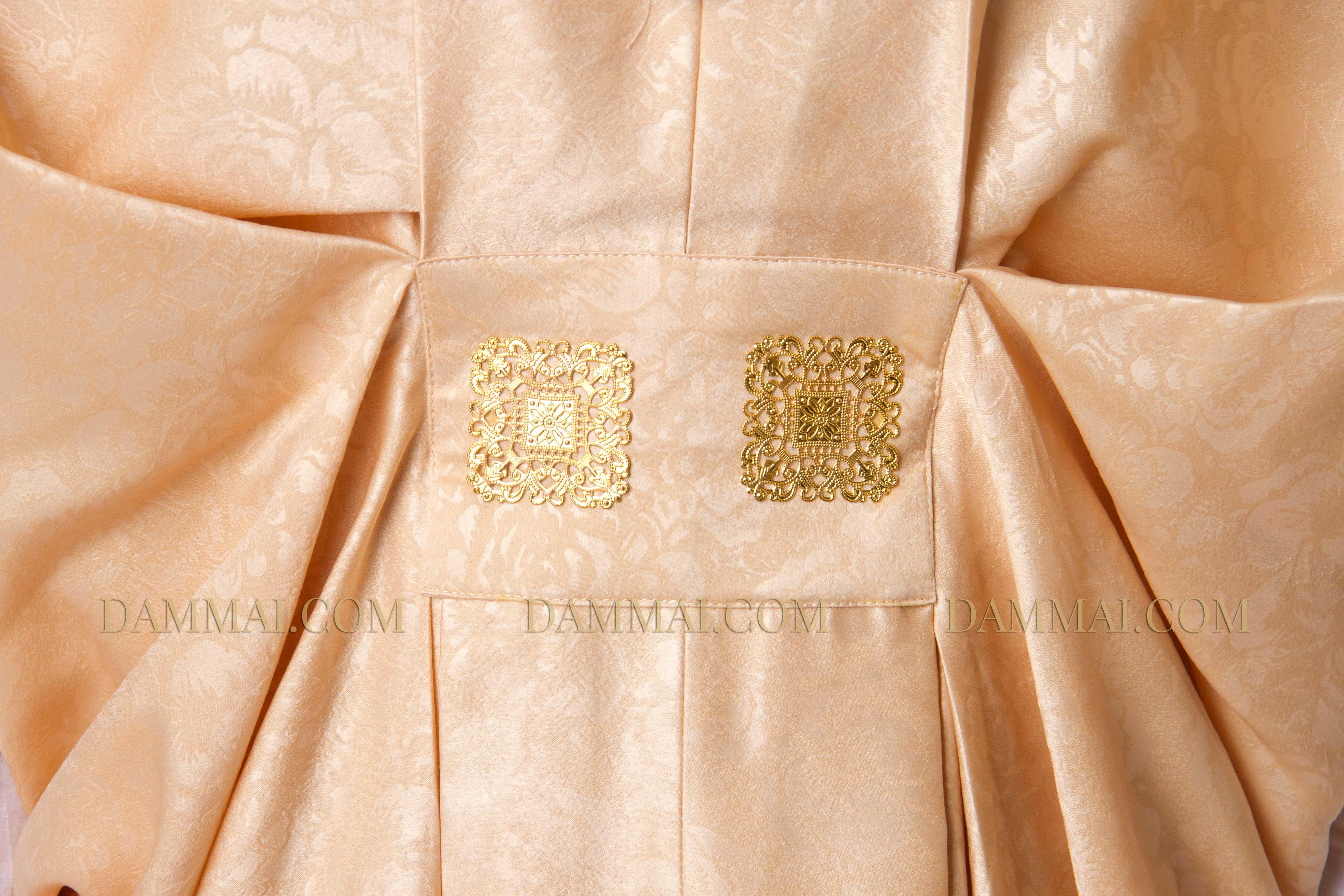 Dress panjang berwarna peach rose best 25 kebaya brokat Baju gamis almia terbaru
