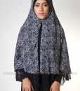 modern edgy blue jilbab syar'i 201