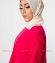 red fashion muslim blouse 903