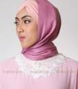 sweet pink hijab pashmina 602